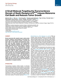 A Small Molecule Targeting Transmembrane Domain of p75NTR